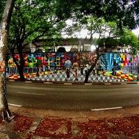 Photo taken at Rua Henrique Schaumann by Rafa L. on 10/31/2013