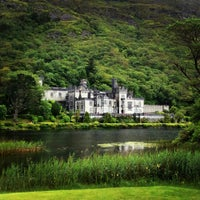 Photo taken at Kylemore Abbey by Anna G. on 7/31/2015