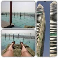 Photo taken at Pool@ Radisson Royal Hotel by Yunochka C. on 7/24/2013