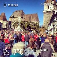 Photo taken at Perchtoldsdorf Marktgemeinde by Tomii H. on 11/10/2013
