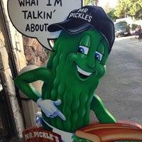 Photo taken at Mr. Pickle's Sandwich Shop by John W. on 12/9/2012