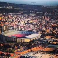 Photo taken at Camp Nou by Место Встречи Барселона on 7/12/2013