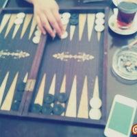 Photo taken at Nezih Cafe Bistro by Burak Tuğrahan P. on 6/17/2014