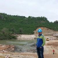 Photo taken at melen barajı kaya ocağı by TC Orhan A. on 4/10/2014