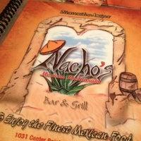 Photo taken at Nacho's by Mark P. on 10/23/2012