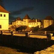Photo taken at Dvorac Batthyany, Restauratorski Centar Ludbreg by Dado B. on 3/4/2013