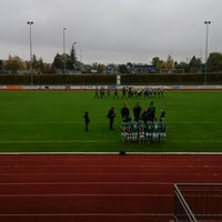 Photo taken at Volksbank Stadion by Andreas S. on 10/10/2015