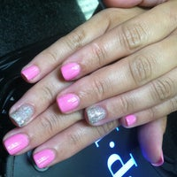 Photo taken at Super Nails by Rachel K. on 7/12/2013