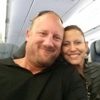 Photo taken at Scott is on the Plane by Scott B. on 8/14/2014