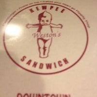 Photo taken at Weston's Kewpee Sandwich by Mattayo on 7/24/2012