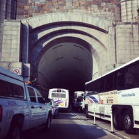 Photo taken at Lincoln Tunnel by Chris A. on 8/24/2012