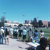 Photo taken at UCLA Spaulding Field by Philip D. on 8/18/2012
