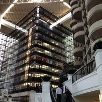 Photo taken at Marriott City Center Dallas by Haydee T. on 5/15/2012