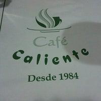 Photo taken at Café Caliente by Luana C. on 9/6/2012