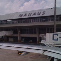 Photo taken at Aeroporto Internacional de Manaus / Eduardo Gomes (MAO) by Kiril Vinicius C. on 11/14/2012