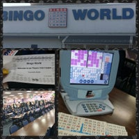 Photo taken at Bingo World by Channelle M.I A B. on 9/5/2014
