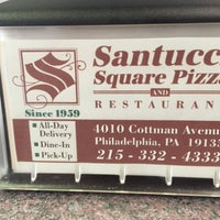 Photo taken at Santucci's Square Pizza and Restaurant by Marc P. on 6/18/2016