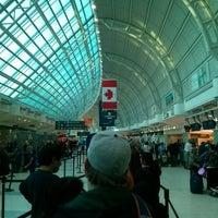 Photo taken at Toronto Pearson International Airport (YYZ) by Alexandru B. on 10/9/2013