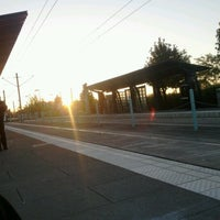 Photo taken at TriMet Beaverton Central MAX Station by Kitty N. on 9/26/2012