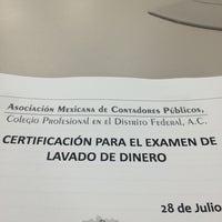 Foto diambil di Asociación Mexicana de Contadores Públicos oleh homero gabriel o. pada 7/28/2015