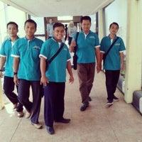 Photo taken at Universitas Negeri Surabaya (UNESA) by Burhan R. on 5/10/2014