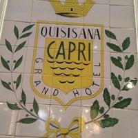 Foto scattata a Quisisana Grand Hotel da Rudy N. il 10/10/2012