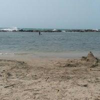 Photo taken at Playas Coveñas by Leonardo V. on 3/26/2016