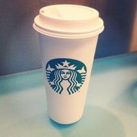 Photo taken at Starbucks by Lucas Y. on 1/16/2013