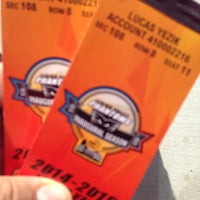 Photo taken at phantoms ticket office by Lucas Y. on 10/12/2014