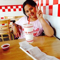 Photo taken at Five Guys by Lily P. on 5/7/2014