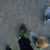 Photo taken at Mandala Krida Jogging Track by Bangkit R. on 5/31/2014