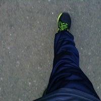 Photo taken at Mandala Krida Jogging Track by Bangkit R. on 5/18/2014