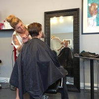Photo taken at Rouge Roots Salon by Matthew P. on 8/17/2013