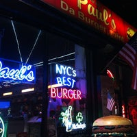 """Photo taken at Paul's """"Da Burger Joint"""" by Caio C. on 12/28/2012"""