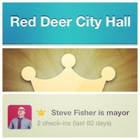 Photo taken at Red Deer City Hall by Steve F. on 8/20/2013