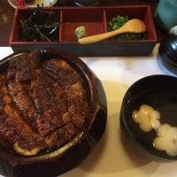 Photo taken at うなぎ 八勝 by Noriko I. on 6/12/2016