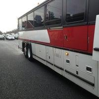 Photo taken at Bieber Bus Terminal by Ben on 3/26/2013