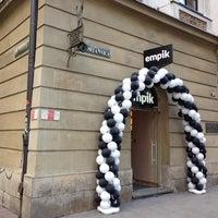 Photo taken at Empik by Bartosz on 4/17/2014