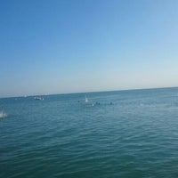 Photo taken at Emekliler Plajı by Semih E. on 7/18/2015