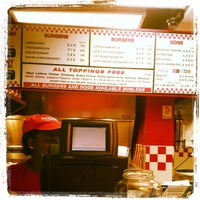 Photo taken at Five Guys by Eric T. on 4/1/2013