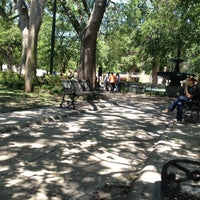 Photo taken at Bienville Square by bonnie p. on 5/4/2013