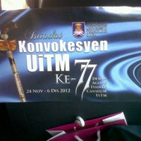Photo taken at Universiti Teknologi MARA (UiTM) by Dieyra A. on 11/24/2012