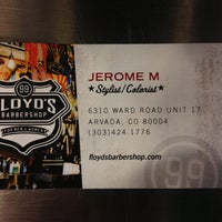 Photo taken at Floyd's 99 Barbershop by Jerome M. on 4/23/2013