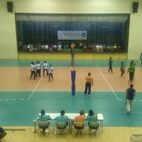 Photo taken at Social Centre Indoor Court by Nishan M. on 1/9/2015