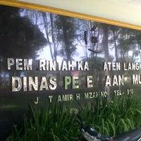 Photo taken at Dinas Pekerjaan Umum Kab. Langkat by ilux m. on 6/21/2013