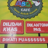 Photo taken at ABG CAFE by Chareena L. on 3/30/2015
