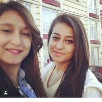 Photo taken at okul yolu by Gökçe G. on 5/13/2014