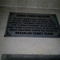 Photo taken at Cuma Fakih Mescidi by Ahmet L. on 9/4/2014