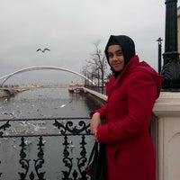 Photo taken at sandy cafe by Zeynep Ş. on 1/14/2014