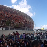 Photo taken at FNB Stadium by Sandy-Lee E. on 5/12/2013